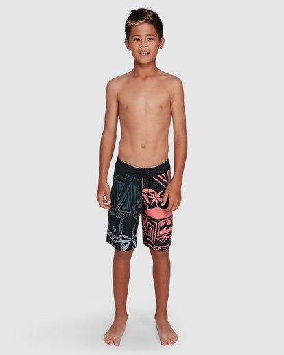 14 Boys Sundays Interchange OG Boardshorts Black 8503434 Billabong