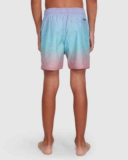 8 Boys Sergio Layback Boardshorts Blue 8503437 Billabong