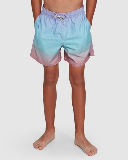9 Boys Sergio Layback Boardshorts Blue 8503437 Billabong