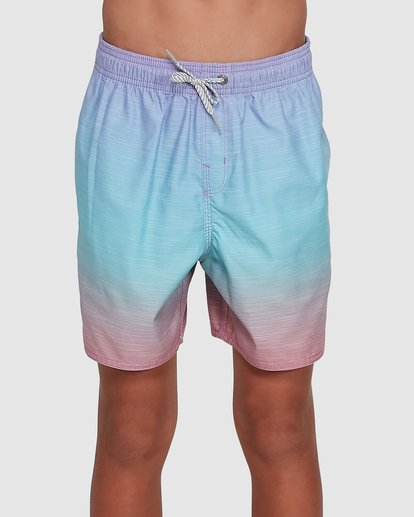 0 Boys Sergio Layback Boardshorts Blue 8503437 Billabong