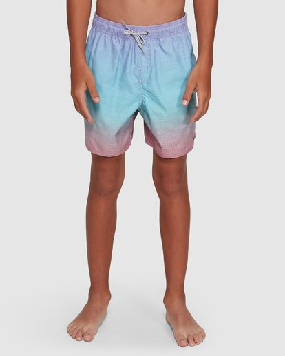 6 Boys Sergio Layback Boardshorts Blue 8503437 Billabong