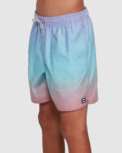 1 Boys Sergio Layback Boardshorts Blue 8503437 Billabong