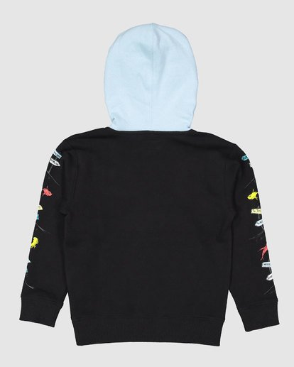 7 Dr. Seuss Boys One Fish Two Fish Pullover Black 8503680 Billabong