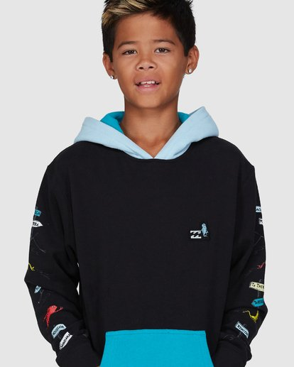4 Dr. Seuss Boys One Fish Two Fish Pullover Black 8503680 Billabong