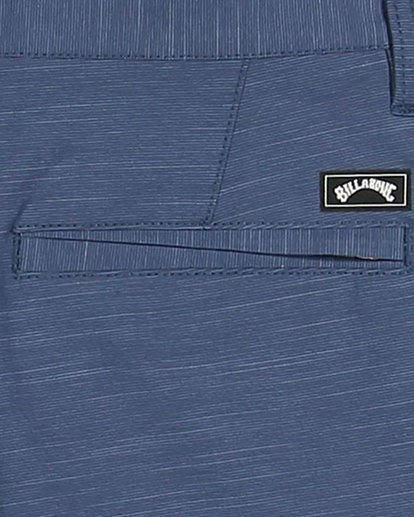13 Boys Crossfire Slub Shorts Blue 8503700 Billabong