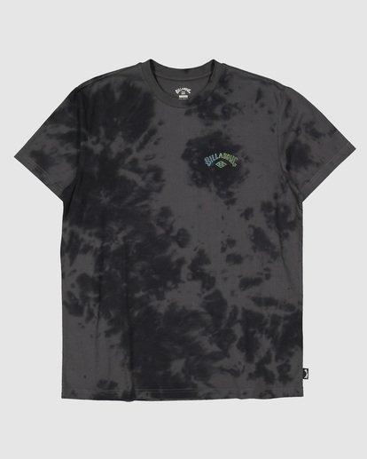 5 Boys Arch Dye Short Sleeve Tee Black 8504005 Billabong