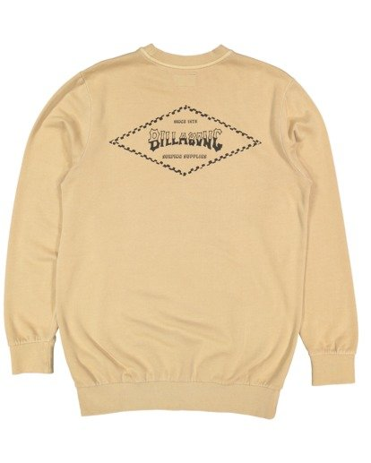 5 Boys Checked Diamond Crew Green 8504614 Billabong
