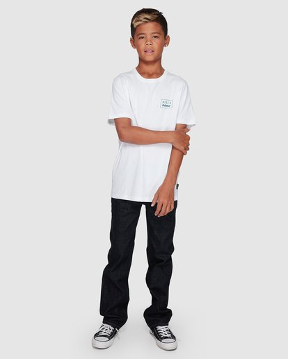 7 Boys Bong Cut Tee White 8507000 Billabong
