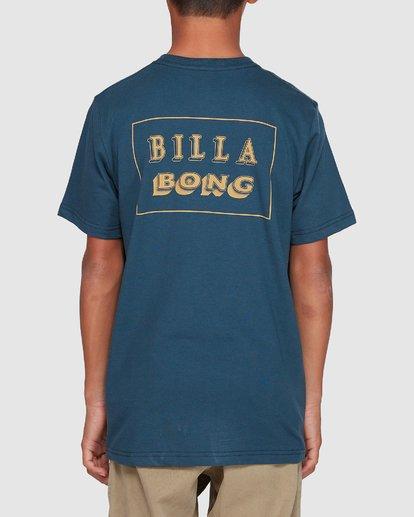 2 Boys Bong Cut Tee Blue 8507000 Billabong