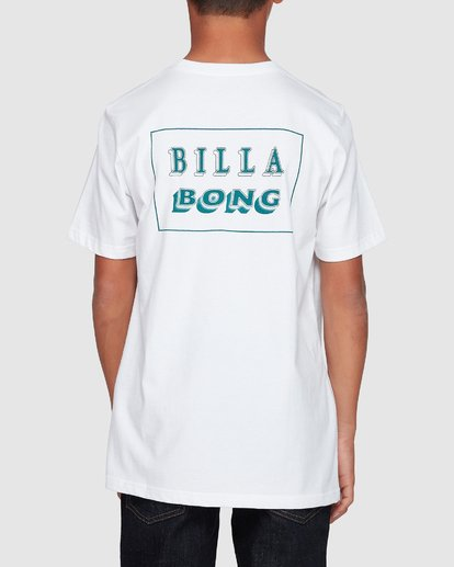 2 Boys Bong Cut Tee White 8507000 Billabong