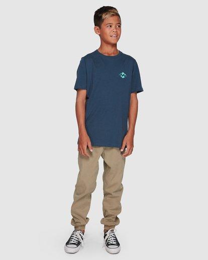 7 Boys Warchild Tee Blue 8507009 Billabong