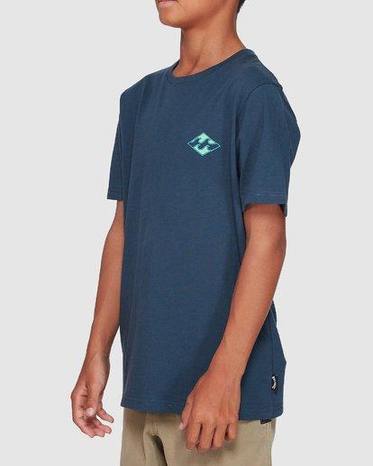 1 Boys Warchild Tee Blue 8507009 Billabong