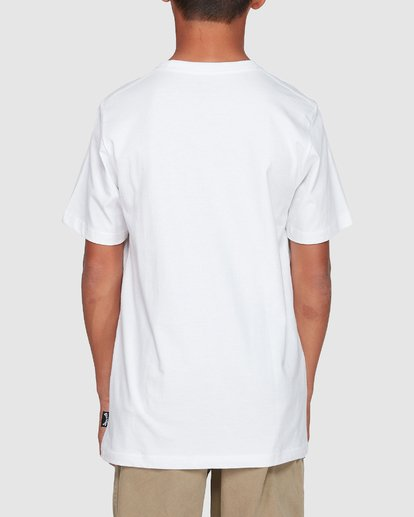 2 Boys Thousand Stack Tee White 8507015 Billabong