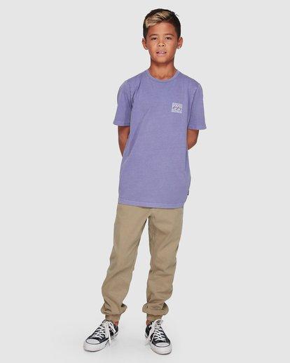 9 Boys Full Froth Tee Purple 8507040 Billabong