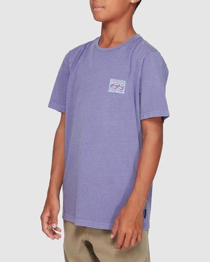 1 Boys Full Froth Tee Purple 8507040 Billabong