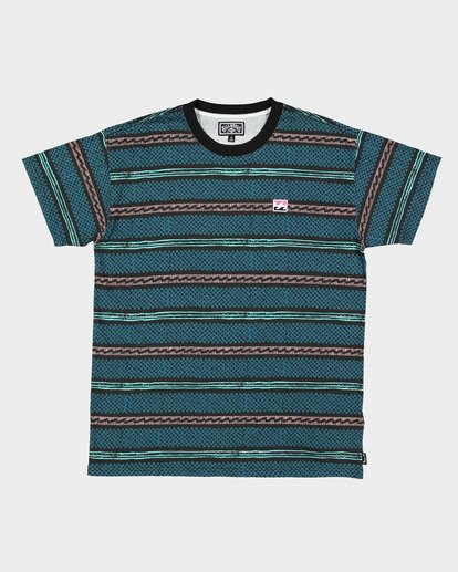 7 Boys Full Rack Short Sleeve Tee Blue 8507041 Billabong
