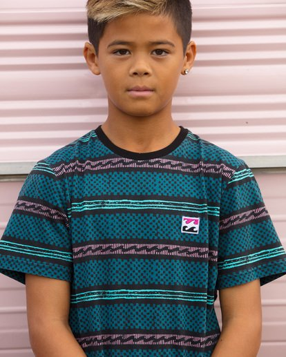5 Boys Full Rack Short Sleeve Tee Blue 8507041 Billabong