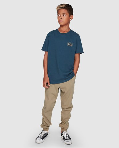 8 Boys Addict Pants Grey 8507311 Billabong