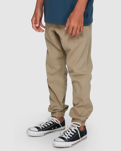 1 Boys Addict Pants Grey 8507311 Billabong