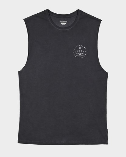 5 Boys Wavy Davy Muscle Tank Black 8507501 Billabong