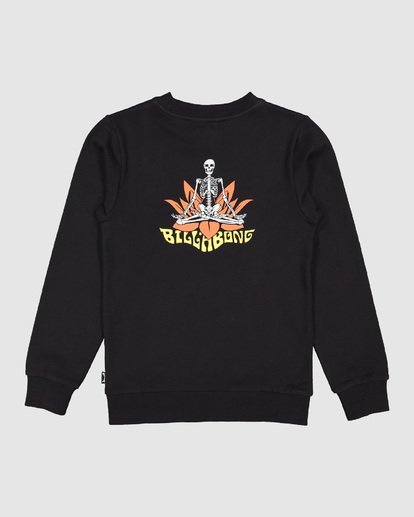 7 Boys Lotus Crew Black 8507600 Billabong