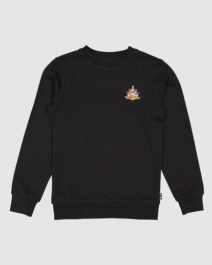 6 Boys Lotus Crew Black 8507600 Billabong