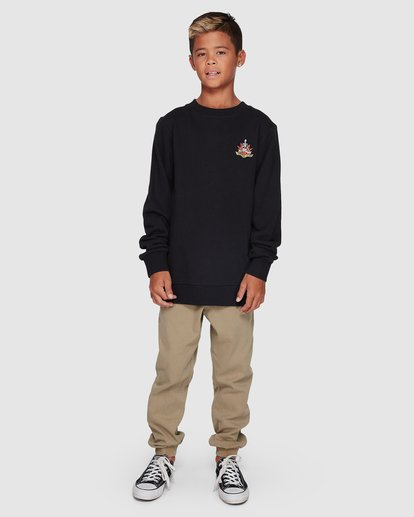 8 Boys Lotus Crew Black 8507600 Billabong