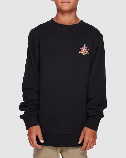 0 Boys Lotus Crew Black 8507600 Billabong