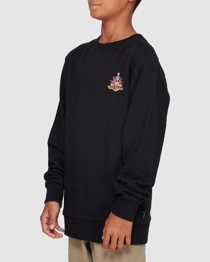 1 Boys Lotus Crew Black 8507600 Billabong