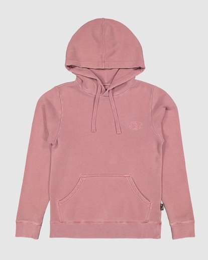 7 Boys Overdye Pop Hoodie Pink 8507608 Billabong