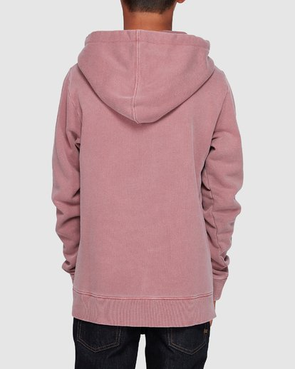 2 Boys Overdye Pop Hoodie Pink 8507608 Billabong