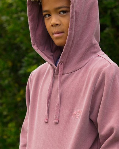 4 Boys Overdye Pop Hoodie Pink 8507608 Billabong