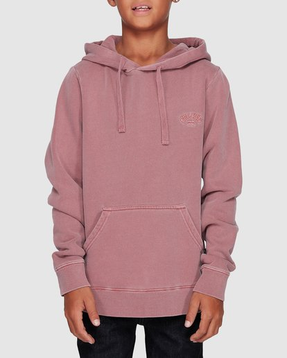 0 Boys Overdye Pop Hoodie Pink 8507608 Billabong
