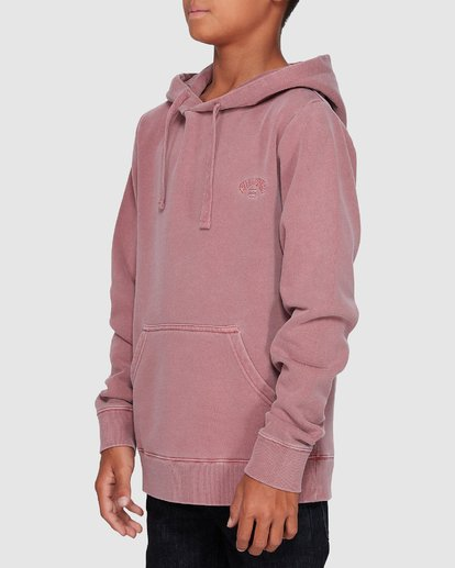 1 Boys Overdye Pop Hoodie Pink 8507608 Billabong