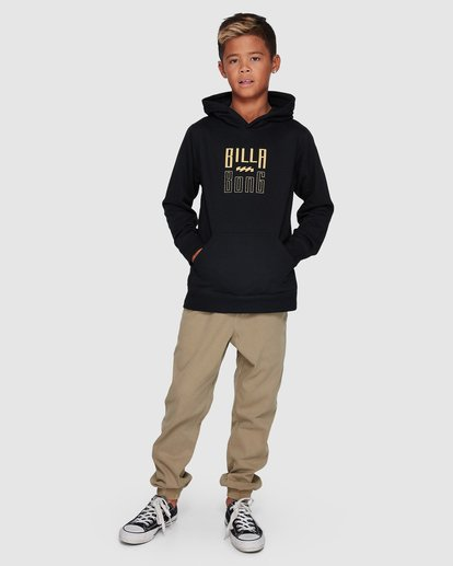 8 Boys Thousand Stack Pop Hoodie  8507616 Billabong