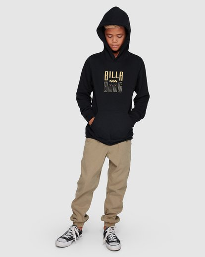 4 Boys Thousand Stack Pop Hoodie  8507616 Billabong