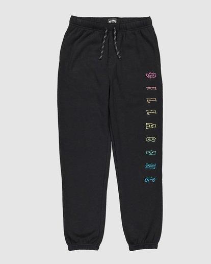 6 Boys Arch Track Pants Black 8507657 Billabong