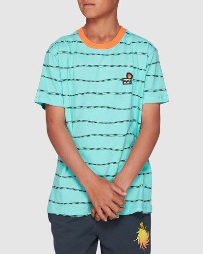 0 Dr. Seuss Truffula Trunk Crew Green 8508000 Billabong