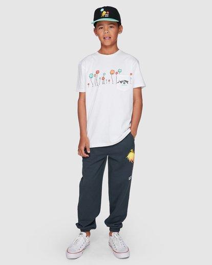 6 Dr. Seuss Truffula Short Sleeve Tee White 8508002 Billabong