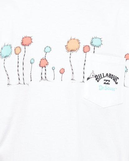 5 Dr. Seuss Truffula Short Sleeve Tee White 8508002 Billabong