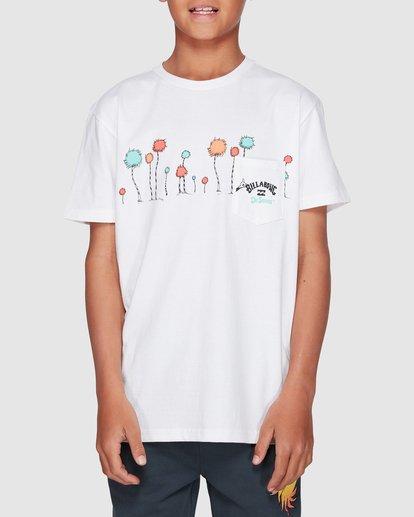 1 Dr. Seuss Truffula Short Sleeve Tee White 8508002 Billabong