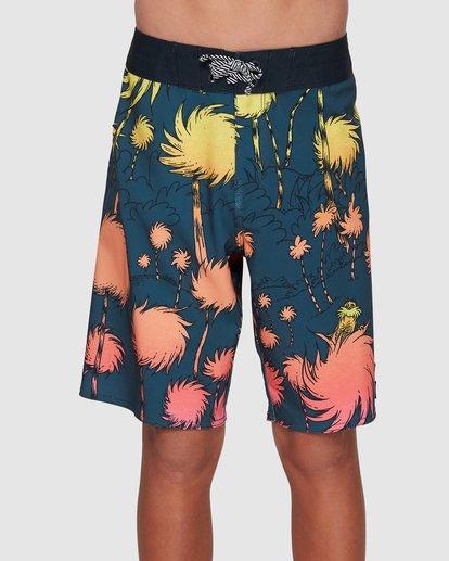 0 Dr. Seuss Lorax Sundays Pro Boardshorts Grey 8508400 Billabong