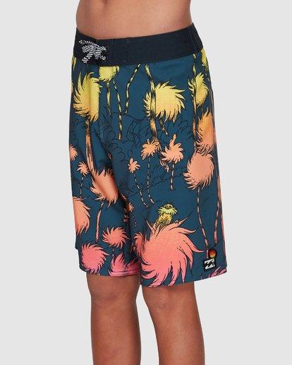 1 Dr. Seuss Lorax Sundays Pro Boardshorts Grey 8508400 Billabong