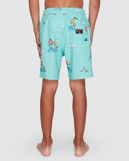 8 Dr. Seuss Lorax Sundays Layback Boardshorts Green 8508401 Billabong
