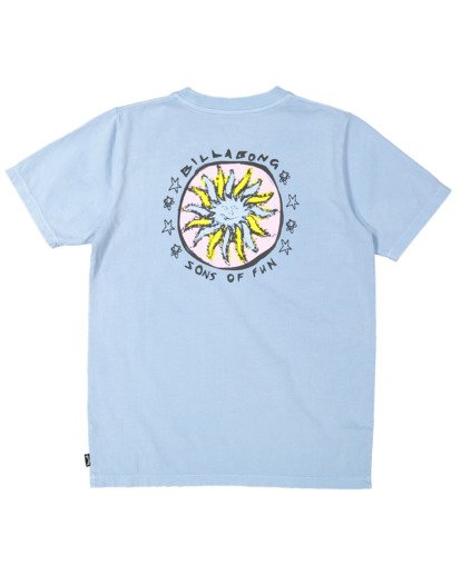 5 Boys 8-16 Sons Of Fun Short Sleeve Tee Blue 8513004 Billabong