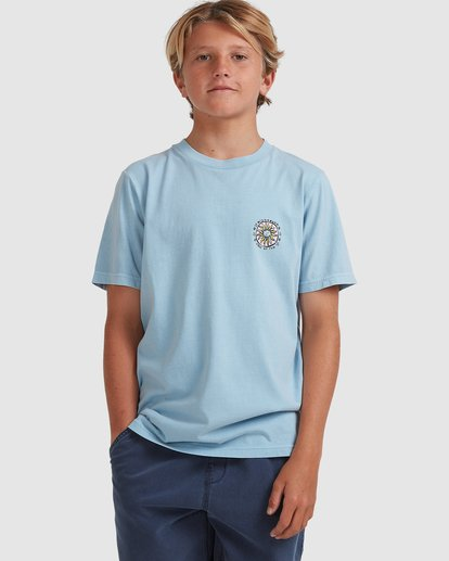 0 Boys 8-16 Sons Of Fun Short Sleeve Tee Blue 8513004 Billabong