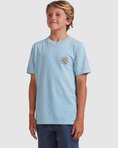 1 Boys 8-16 Sons Of Fun Short Sleeve Tee Blue 8513004 Billabong