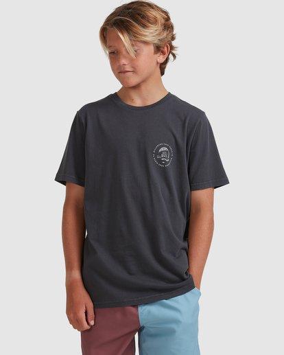 0 Boys 8-16 Sunken City Short Sleeve Tee Black 8513009 Billabong