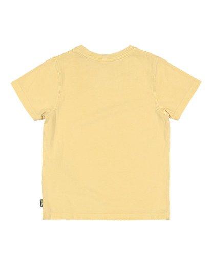 5 Boys 8-16 Medicine Short Sleeve Tee Yellow 8513010 Billabong