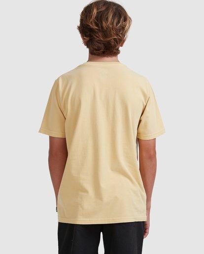 2 Boys 8-16 Medicine Short Sleeve Tee Yellow 8513010 Billabong